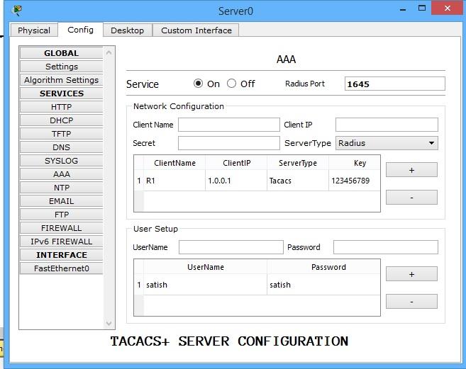 tacacs+ server