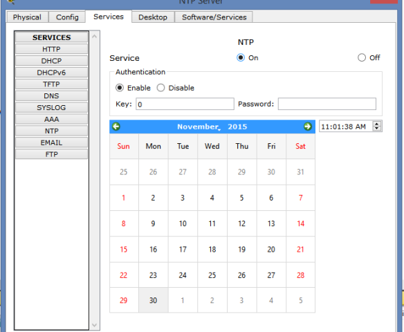 Learn how to configure NTP Server and NTP Client on cisco