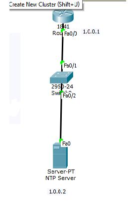 ntp client server configuration