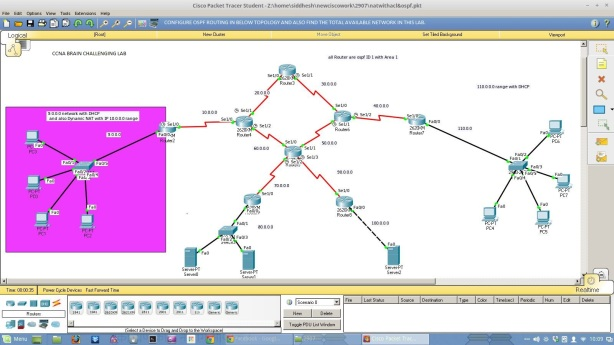 packet tracer lab