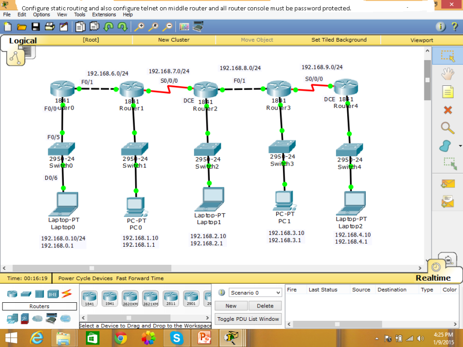 ccna routing lab question