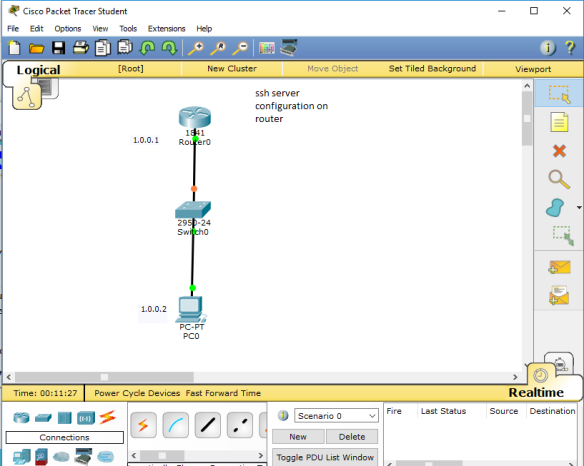 SSH CONFIGURATION ON CISCO ROUTER CCNA-LAB | Learn Linux