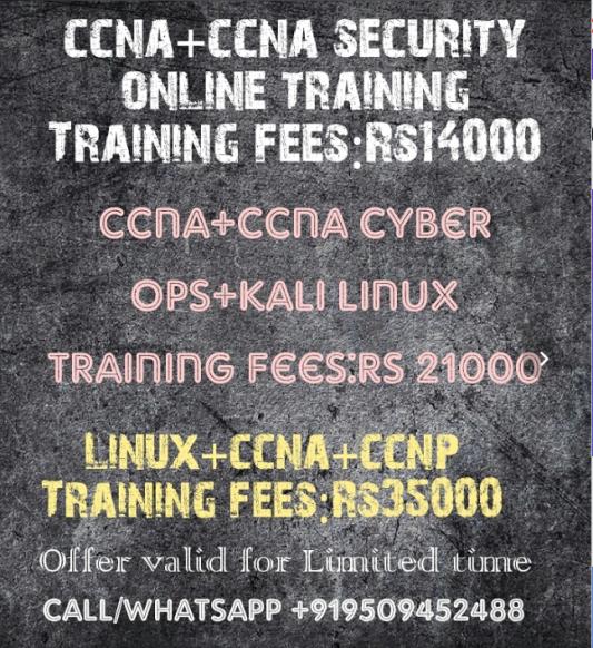 ccna kali linux ccna cyber ops training